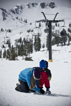 Starting them young at Squaw Valley