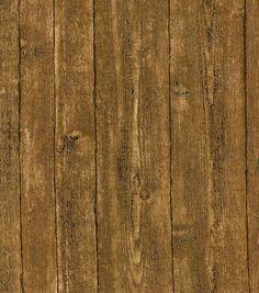Brown Rustic Barnboard Wallcovering