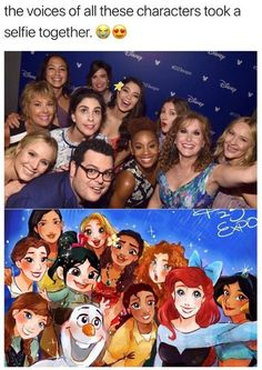I'm still so bothered that Susan Egan was at D23 and missed out on this picture. :/