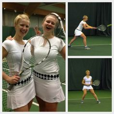 Tennis tournament - matching outfits