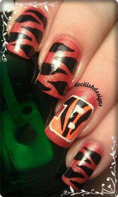 Cincinnati Bengals Football...The only time I would wear Orange & Black :)