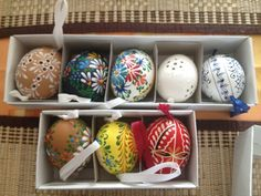 traditional slovakian easter eggs