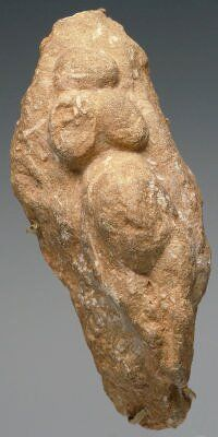 Ancient Goddess figure, c. 20,000 BC. found in France.