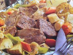 Easy crockpot recipes: Yankee Pot Roast with Vegetables Crockpot Recipe