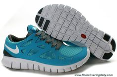 new concept 86f5a 88127 443815-015 Nike Free Run 2 Mens Gray Jade Online Free Running Shoes, Nike