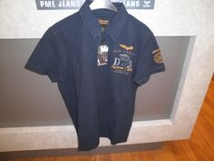 PME polo donkerblauw