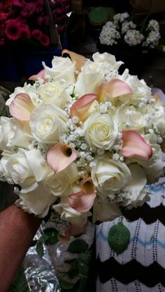 Wedding flowers from Roma florist 11 Davis st Oakville ct Www.romaflorist.com