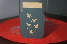 Firefly Card Dark by MomsCrazyCraftroom on Etsy
