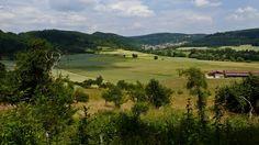 Von Höhefeld am Hohenberg entlang nach Gamburg