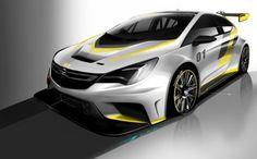 Für den Kundensport: Sneak-Preview des neuen Opel Astra TCR