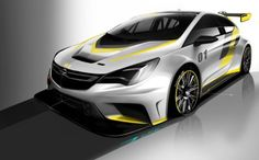 Für den Kundensport: Sneak-Preview des neuen Opel Astra TCR