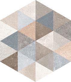 Hexagono fingal 23x26,6, плитка универсальная hexagono fingal 23x26,6