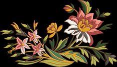 Hd Flowers, Botanical Flowers, Pattern Art, Print Patterns, Kalamkari Designs, Boarder Designs, Wedding Pinterest, Botanical Drawings, Leaf Art