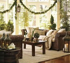 Christmas Home Decorating Ideas | Christmas Decoration Ideas – Interiors And Fireplace Decoration ...