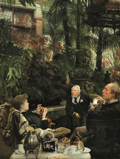 The Rivals (I rivali, 1878-79), by James Tissot.