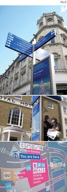 Southend-on-Sea signage by fwdesign. www.fwdesign.com