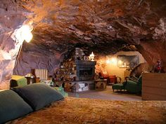 cave living isn't so bad either.