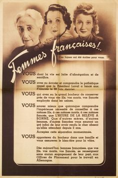 Propagande de Vichy