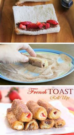 French-Toast-Rollen (Breakfast Toast)