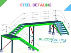 Silicon Valley Handrailing offers specific stair and railing organizations to business and business customers. abnormally knowledgable and sophisticated Steel Detailing, Handrail Detailers, Structural Engineers and other CAD Technicians. Our Offered organization is broadly extol for its profitable execution and flexibility in Qatar.