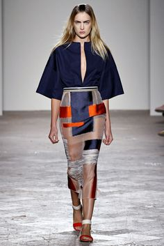 Gabriele Colangelo Spring 2013 Ready-to-Wear Fashion Show - Ophelie Rupp