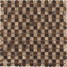 Dune Safari Mosaic Tile - 30 x 30 cm - per tile Mosaic Glass, Mosaic Tiles, Safari, Kitchen Tiles, Dune, Animal Print Rug, Neutral, Beige, Home Decor