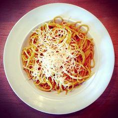 Spaghetti au curry au Lékué