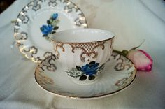 A personal favorite from my Etsy shop https://www.etsy.com/listing/204561620/a-fabulous-vintage-china-trio-made-by