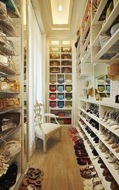 Interior, Walk in Wardrobe Design Ideas : adorable walk in wardrobe design