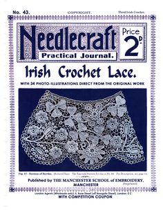 No.43 Needlecraft Journal Irish Crochet Lace - Doris - Álbuns da web do Picasa
