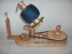 RESERVED Yarn Ball Winder by Wood That It Whir by WoodThatItWhir