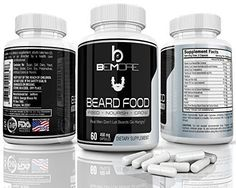 24 Best Beard Growth Supplements images in 2018 | Facial hair growth