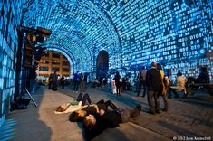 Immersive Projection Mapping - 2012 Dumbo Arts Festival
