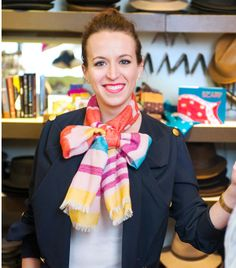 Check out Lauren's latest feature - in the Washington Post! http://www.washingtonpost.com/express/wp/2014/04/25/lauren-friedman-author-of-50-ways-to-wear-a-scarf-shows-us-the-ropes/