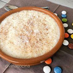 Esta receta de natillas de coco es muy fácil de preparar. La leche de coco se puede preparar en casa (aquí sabrás cómo hacerla) pero es fácil de encontrar