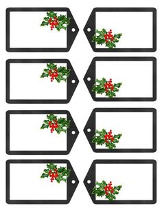 Free Holiday Gift Tags and Digital Paper - Tracey Gurley Free Printable Christmas Gift Tags, Christmas Labels, Holiday Gift Tags, Noel Christmas, Christmas Printables, All Things Christmas, Holiday Crafts, Xmas, Card Tags