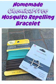 Homemade chemical-free mosquito repelling bracelet http://www.hometalk.com/l/oz6