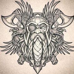 Norse Mythology Tattoo, Norse Tattoo, Celtic Tattoos, Armor Tattoo, Wiccan Tattoos, Inca Tattoo, Indian Tattoos, Shield Tattoo, Samoan Tattoo