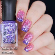 Esmaltes de uñas termales o térmicos que cambian de color  Gradient nail thermal nail polish