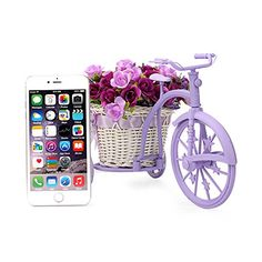 Louis Garden Handmade Rattan Vase Basket Artificial Flower Pack (Purple) #handmade Home Decoration    Usage: For Home Decoration, wedding arrangments, party arrangement, and stage decoration,table decoration etc.    Material:    Bicycle: Rattan and plastic    Artificial Flower: Linen and plastic Handmade rattan vase. Bicycle wheels can move Handmade rattan vase. Bicycle wheels can move The Fake Rose is made of Linen. Handmade rattan vase. Bicycle wheels can move Handmade rattan vase...