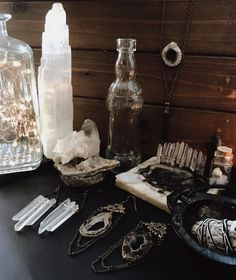 support small businesses with your holiday shopping this year! there's nothing better than a handmade gift ✨✨✨ #handmade #handmadejewelry #witchy #witchyjewelry #witch #aesthetic #yule #winter
