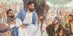 Jesus profere o Sermão do Monte