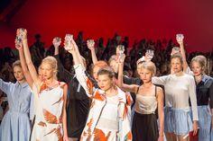 Anne Gorke Fashionshow - Mercedes Benz Fashionshow