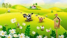 achtergrond boerderij plaatje - Google zoeken