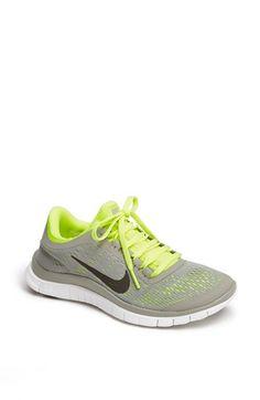Nike \u0026#39;Free 3.0 v5\u0026#39; Running Shoe (Women) available at #Nordstrom Tropical Teal/Black/Green $110