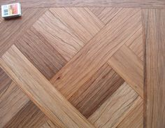 Aged Blackbutt parquetry section Timber Flooring, Hardwood Floors, Parquetry Floor, King Bed Frame, King Beds, Deck, Bedhead, Rustic, Architecture