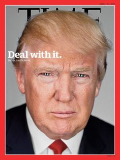 PHOTO: MARTIN SCHOELLER FOR TIME Behind TIME's Cover with Donald...