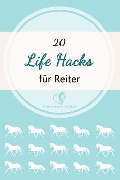 Life Hacks für Reiter (Kaltes Gebiss, dreckige Tränke, Wasser transportieren, Wurmkur geben, Pferd putzen, Mistflecken, etc)