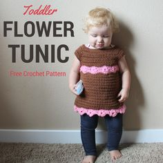 Toddler Flower Tunic