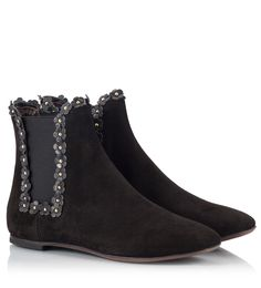 16e1820cfa These Attilio Giusti Leombruni's beatle boots are expertly crafted in Italy  from black suede leather and